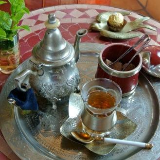 Moroccan Mint Tea(季節限定) 700yen