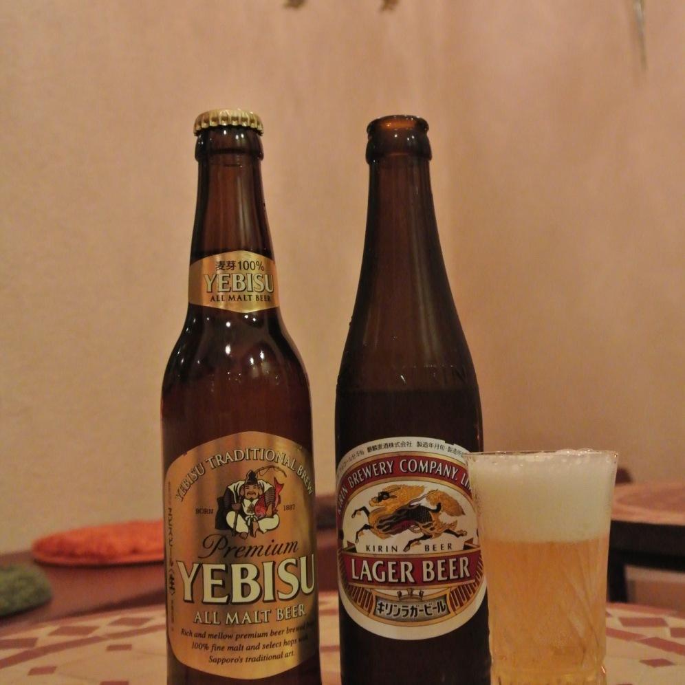 Beer 700yen