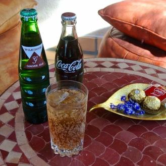 Coca Cola,Ginger Ale 500yen