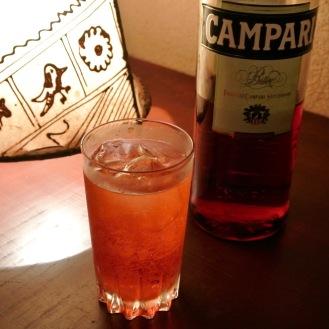 Campari & Soda 700yen