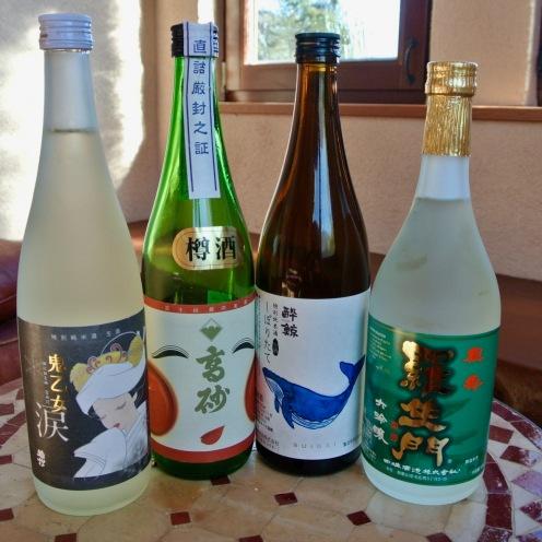日本酒 1合 800yen〜