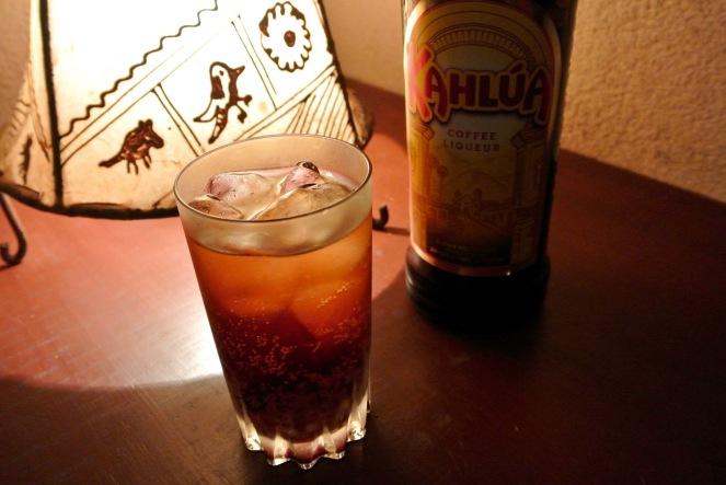 Kahlua & Soda 700yen