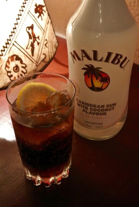 Malibu & Coke 700yen