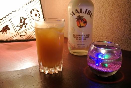 Malibu & Orange 700yen