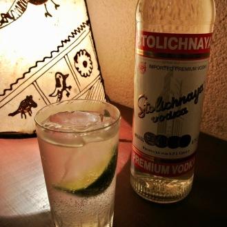 Vodka Rickey 700yen