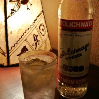Vodka Tonic 700yen