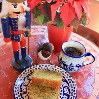 柚子ジャム入り抹茶パウンドケーキ