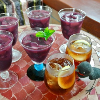 梨の赤ワインコンポートゼリー