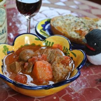 牛肉とトマトのシチュー