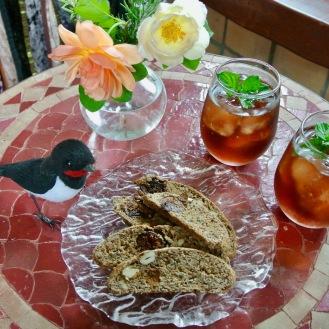 紅茶と干しいちじくのビスコッティ